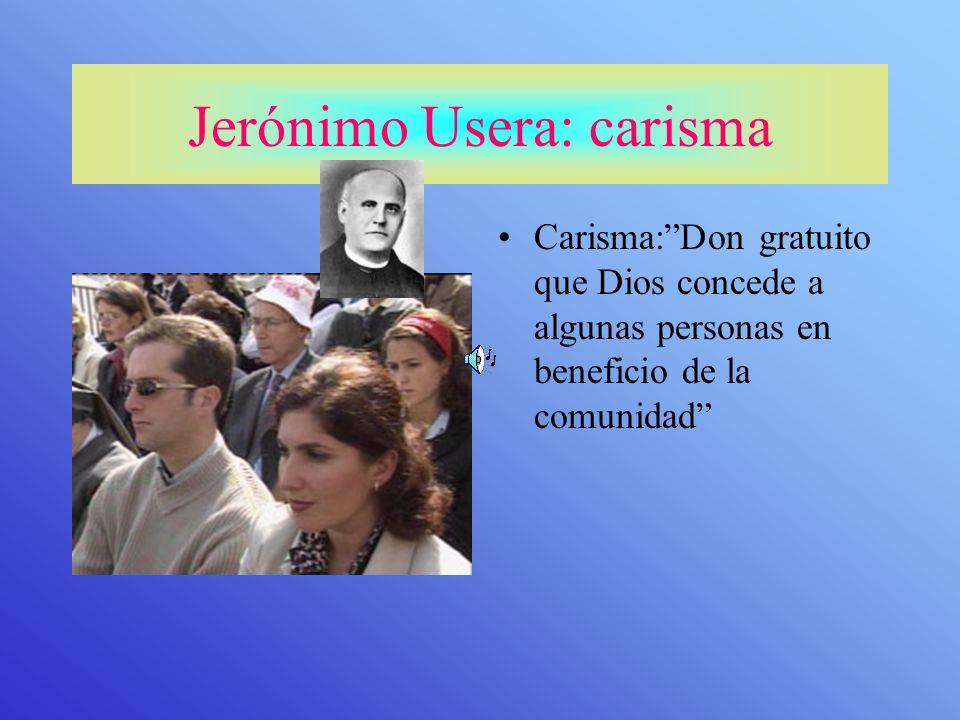 Jerónimo Usera: carisma