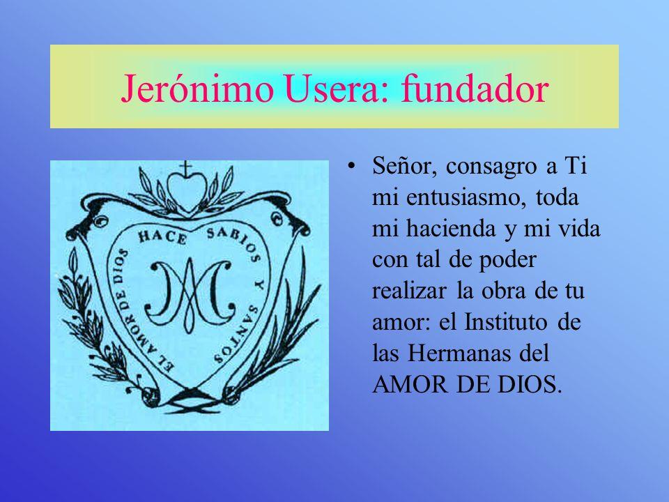 Jerónimo Usera: fundador