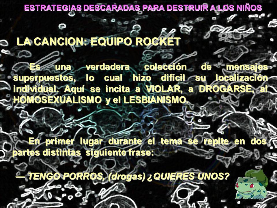 LA CANCION: EQUIPO ROCKET