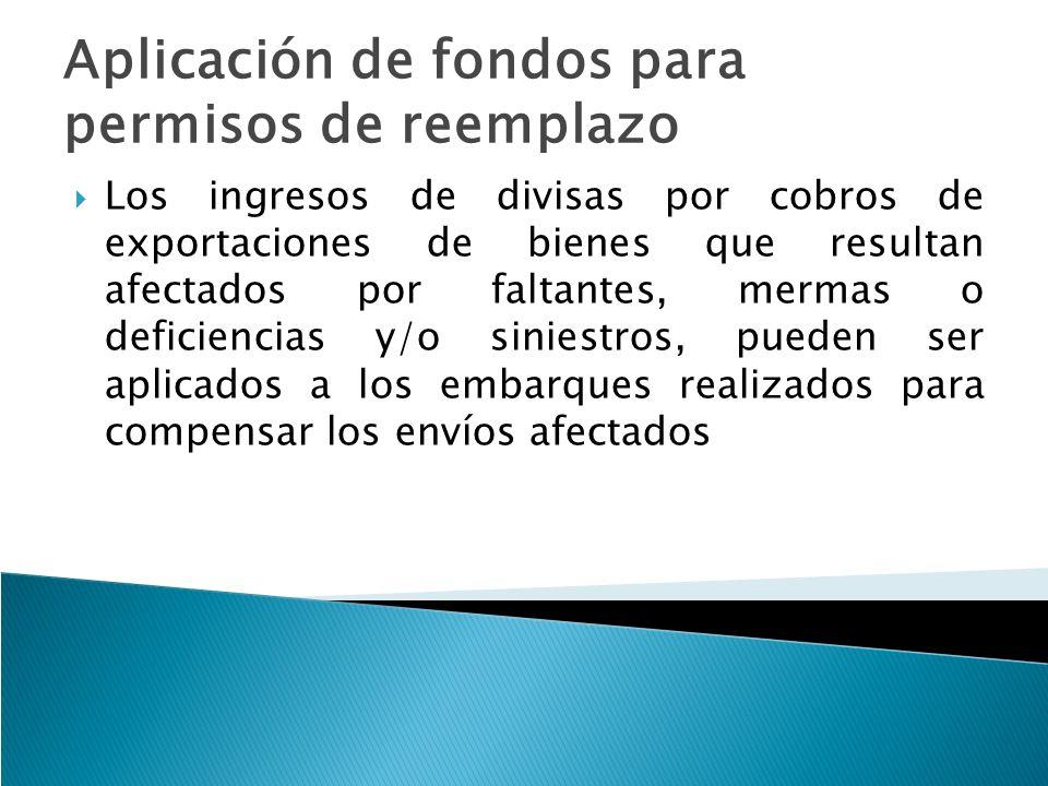 Aplicación de fondos para permisos de reemplazo