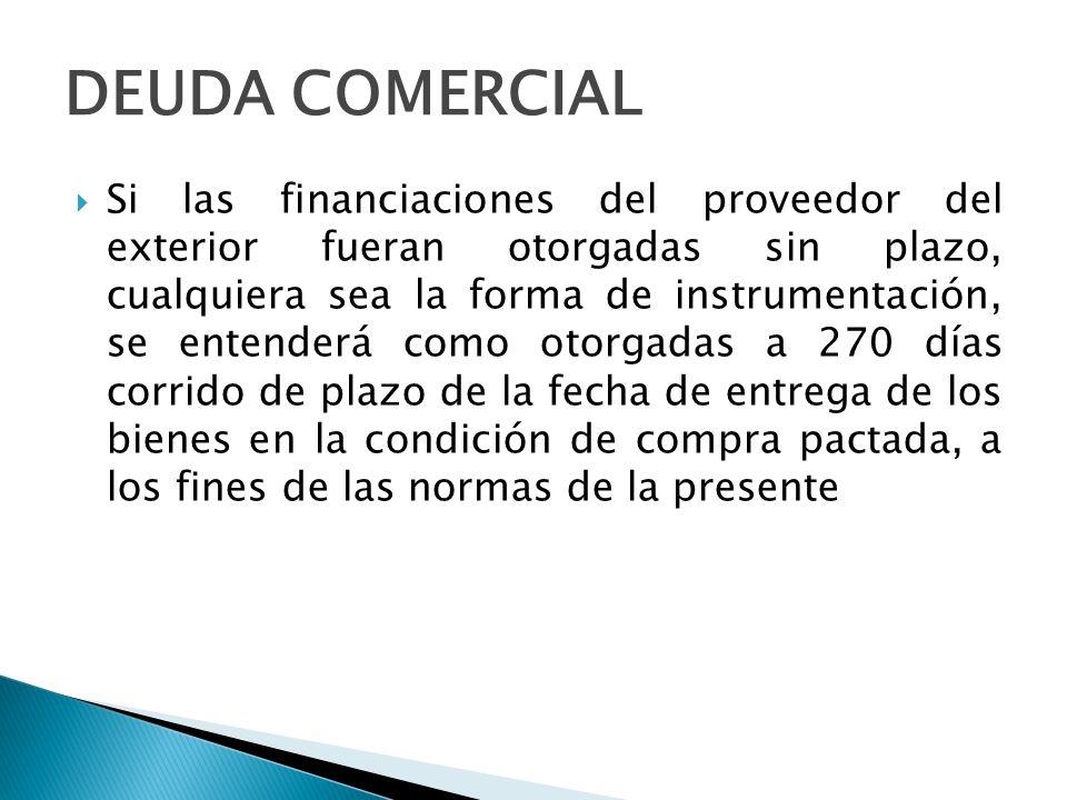 DEUDA COMERCIAL