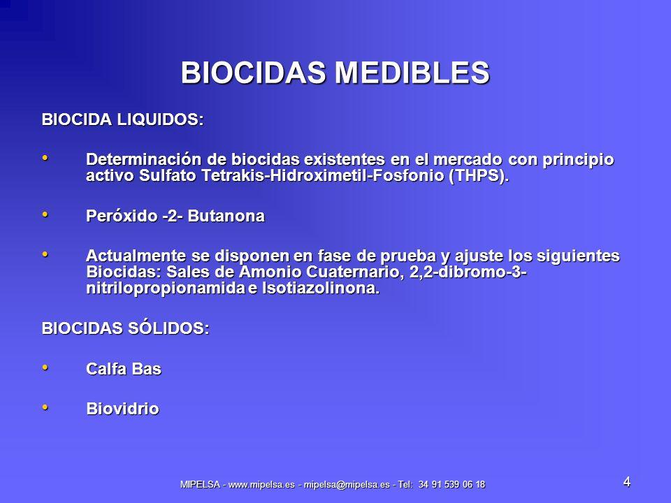 MIPELSA - www.mipelsa.es - mipelsa@mipelsa.es - Tel: 34 91 539 06 18
