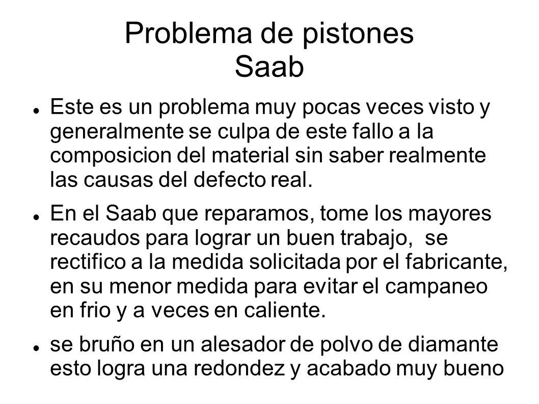 Problema de pistones Saab