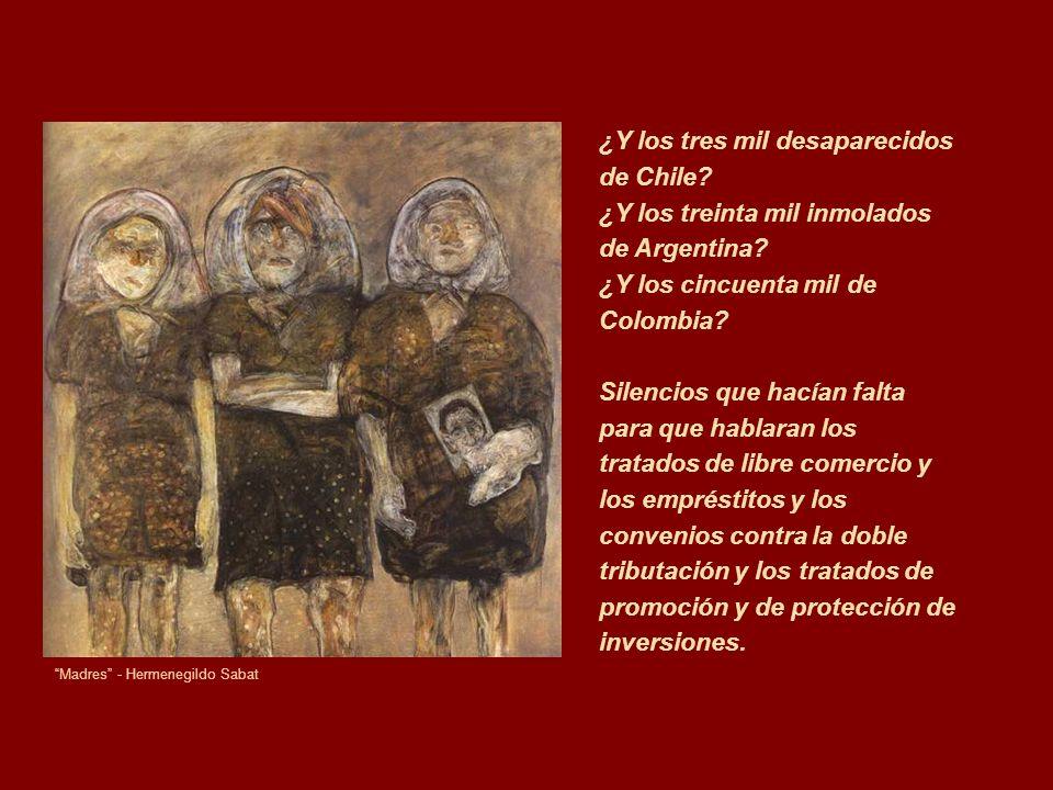 ¿Y los tres mil desaparecidos de Chile