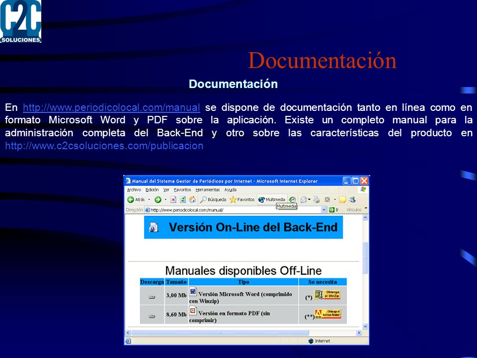 Documentación Documentación