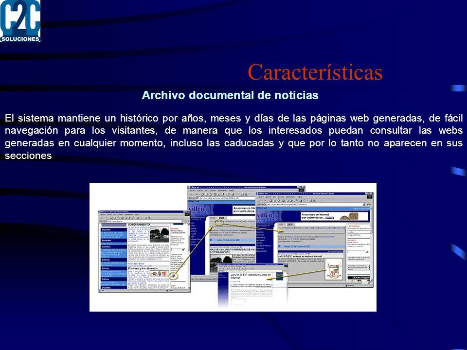Archivo documental de noticias