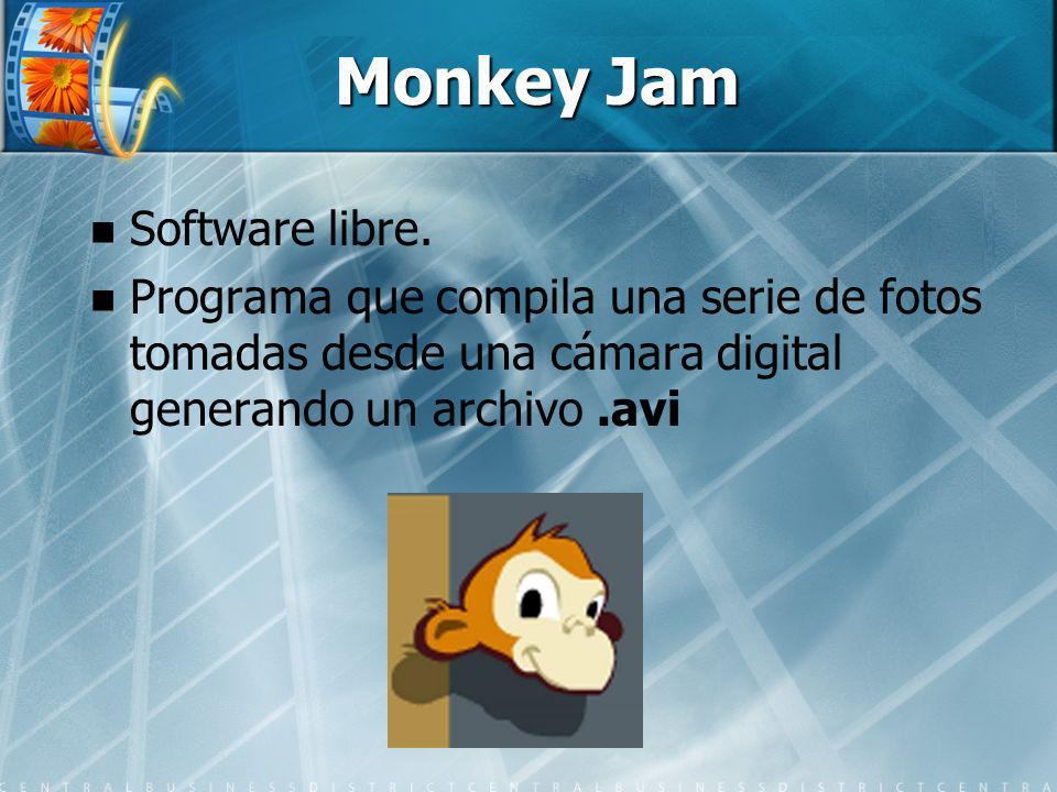 Monkey Jam Software libre.