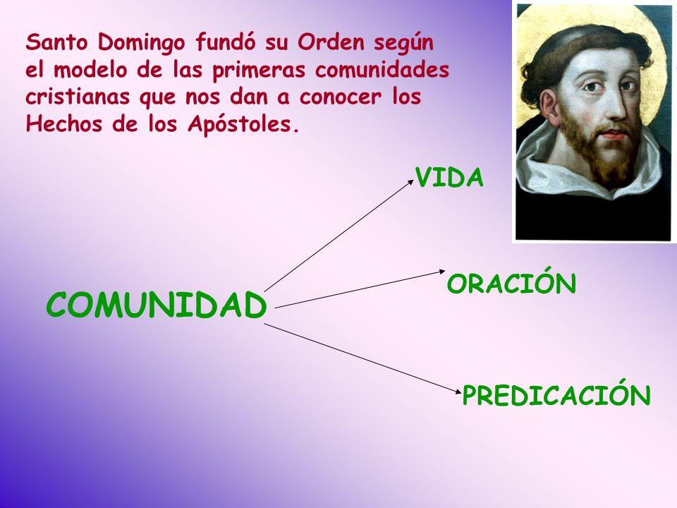 COMUNIDAD VIDA ORACIÓN PREDICACIÓN