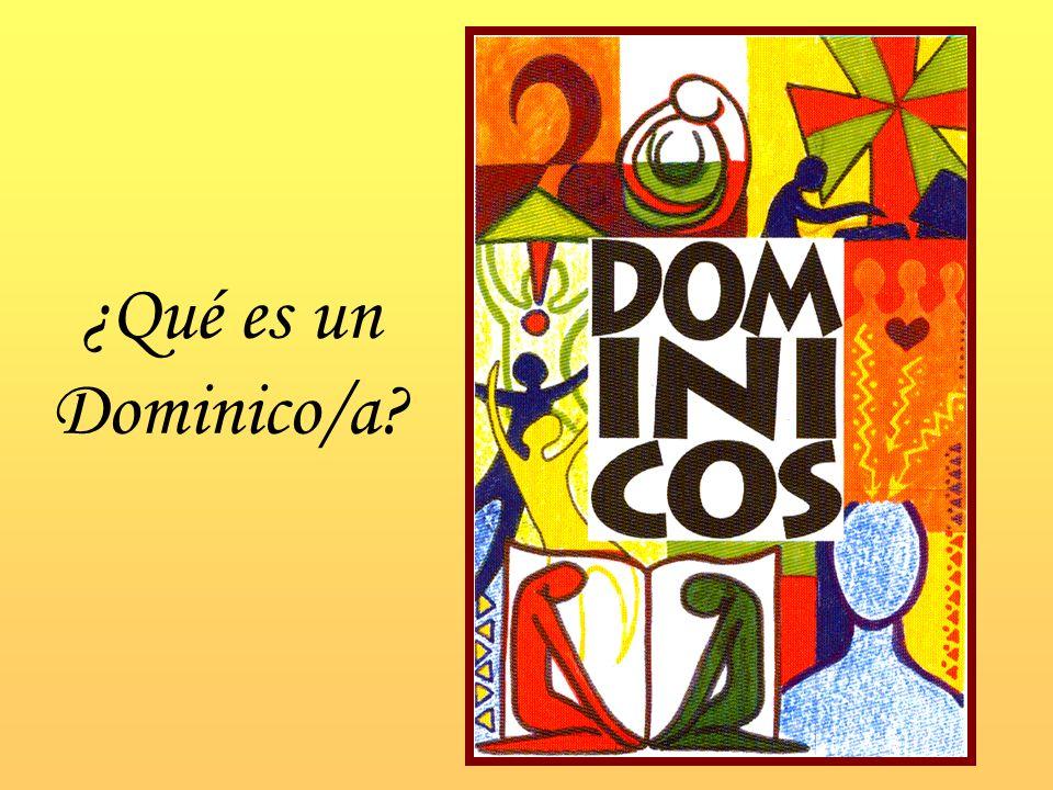 ¿Qué es un Dominico/a