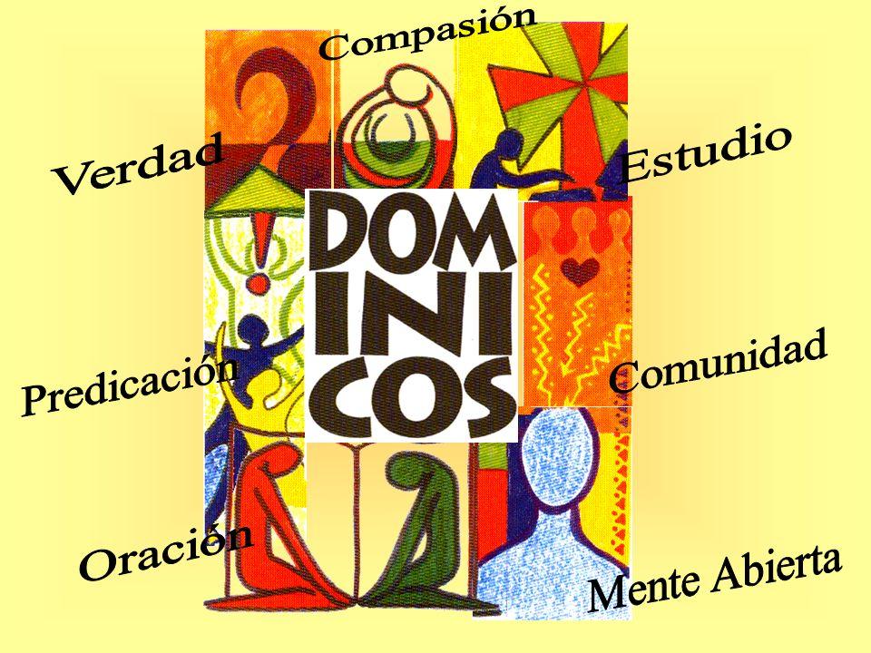 somos Compasión Estudio Verdad Comunidad Predicación Oración