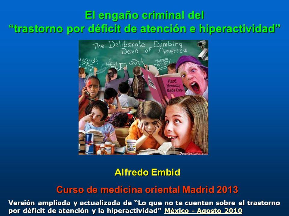Curso de medicina oriental Madrid 2013