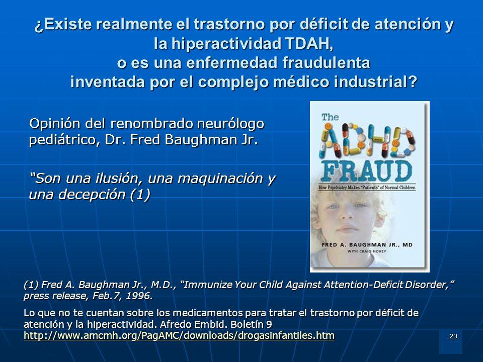 ¿Existe realmente el trastorno por déficit de atención y la hiperactividad TDAH, o es una enfermedad fraudulenta inventada por el complejo médico industrial