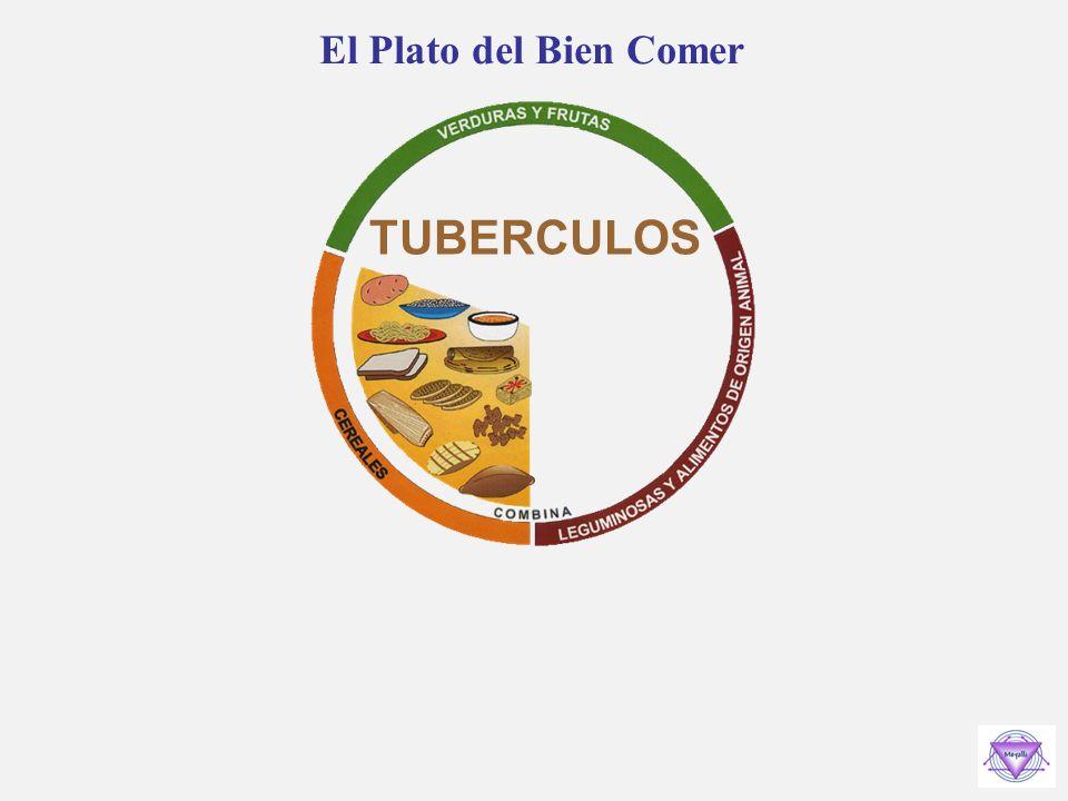 El Plato del Bien Comer TUBERCULOS