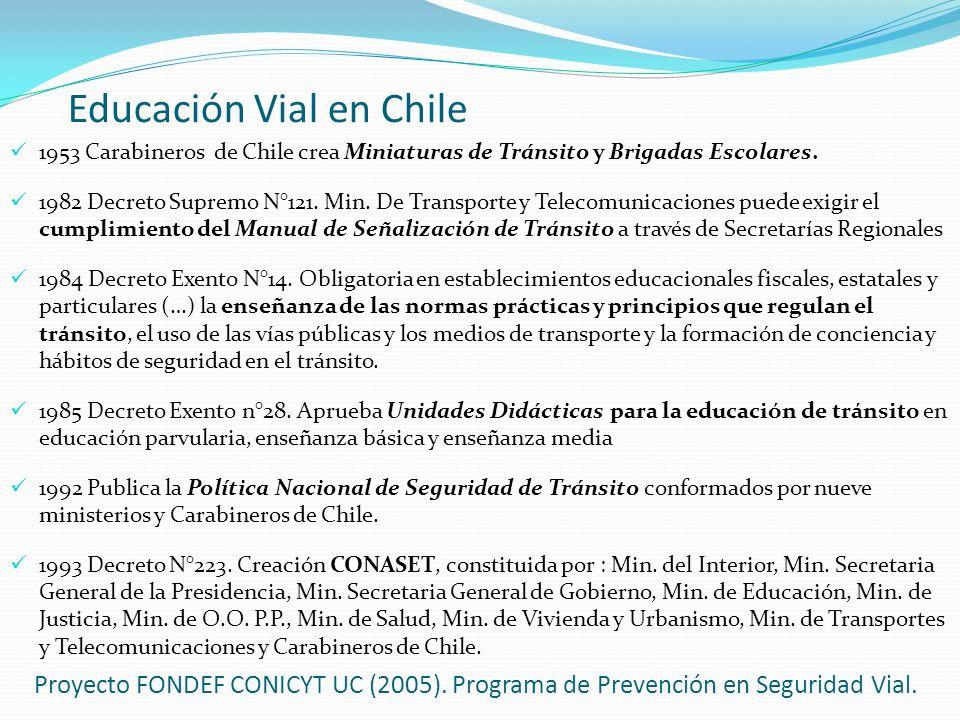 Educación Vial en Chile