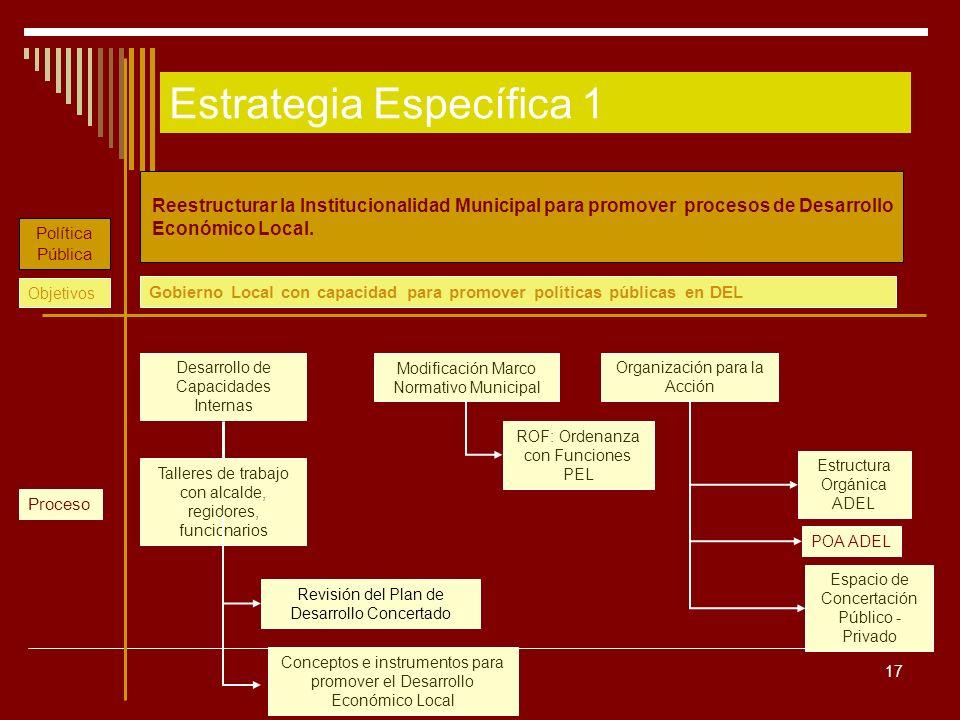 Estrategia Específica 1