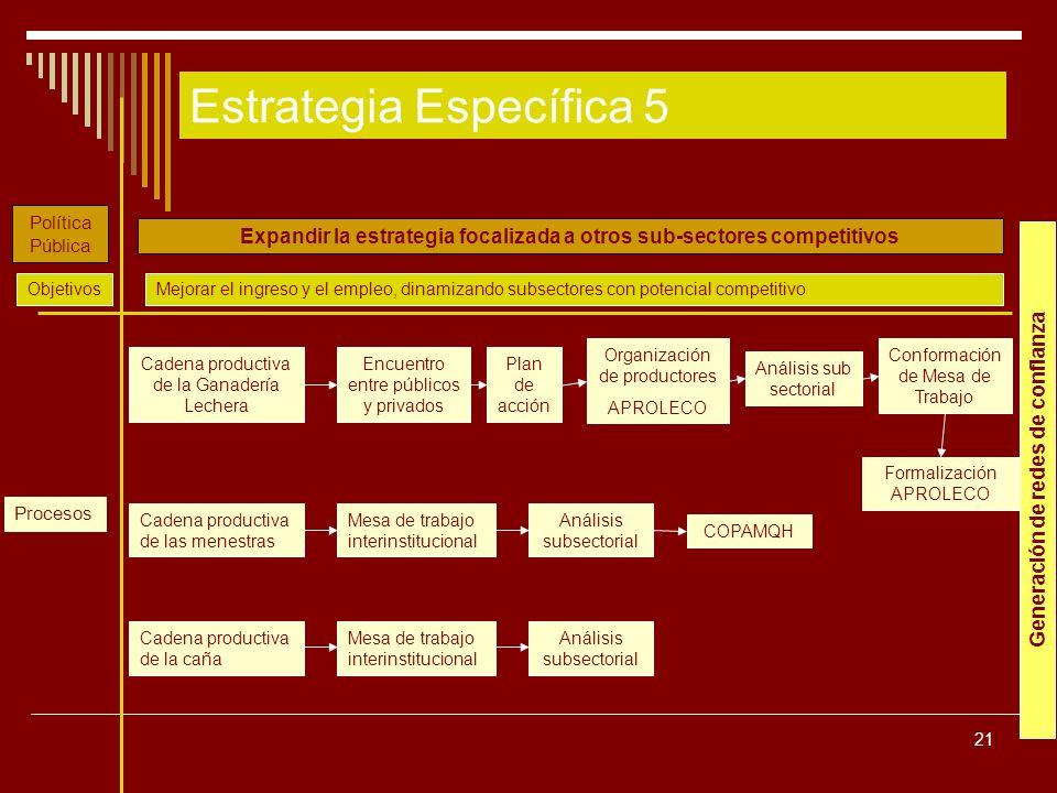 Estrategia Específica 5