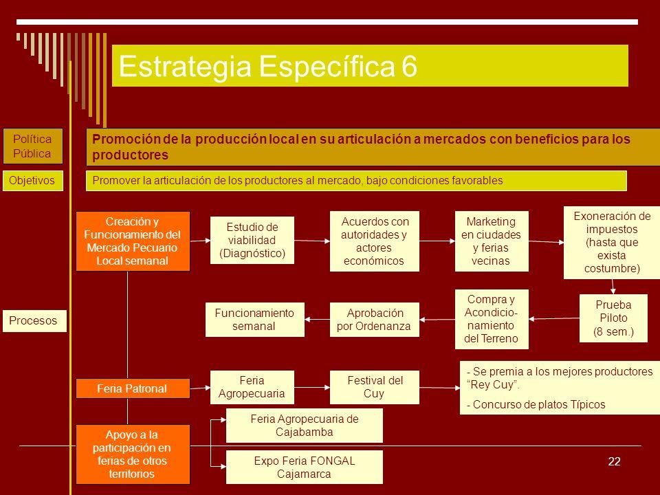 Estrategia Específica 6