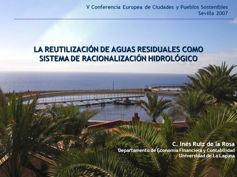 V Conferencia Europea de Ciudades y Pueblos Sostenibles