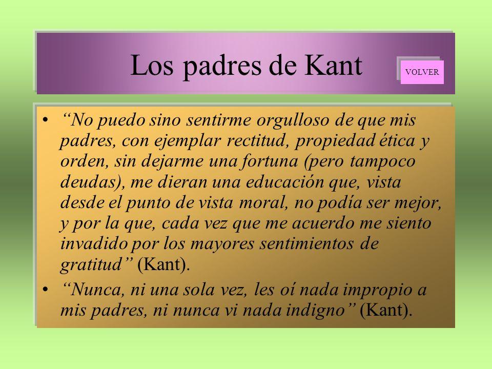 Los padres de Kant VOLVER.