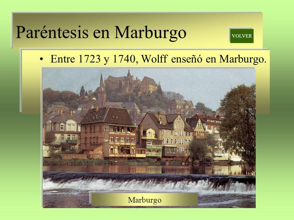 Paréntesis en Marburgo