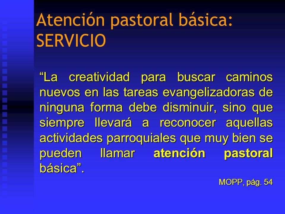 Atención pastoral básica: SERVICIO