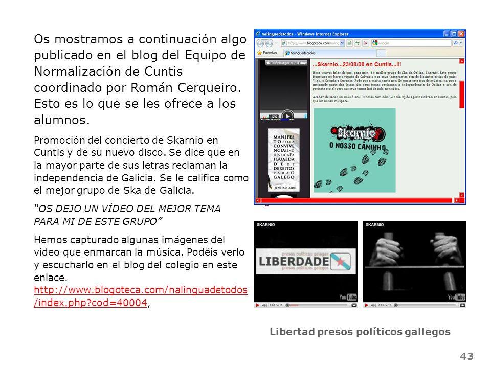 Libertad presos políticos gallegos