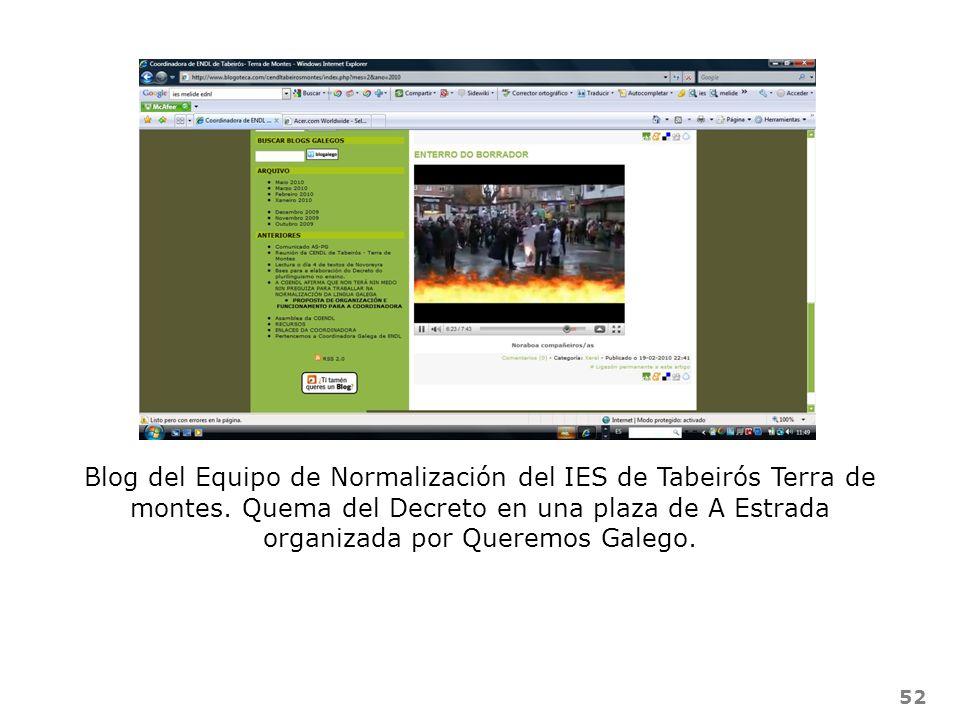 Blog del Equipo de Normalización del IES de Tabeirós Terra de montes