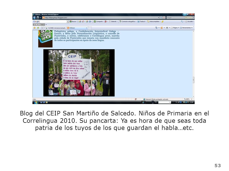 Blog del CEIP San Martiño de Salcedo