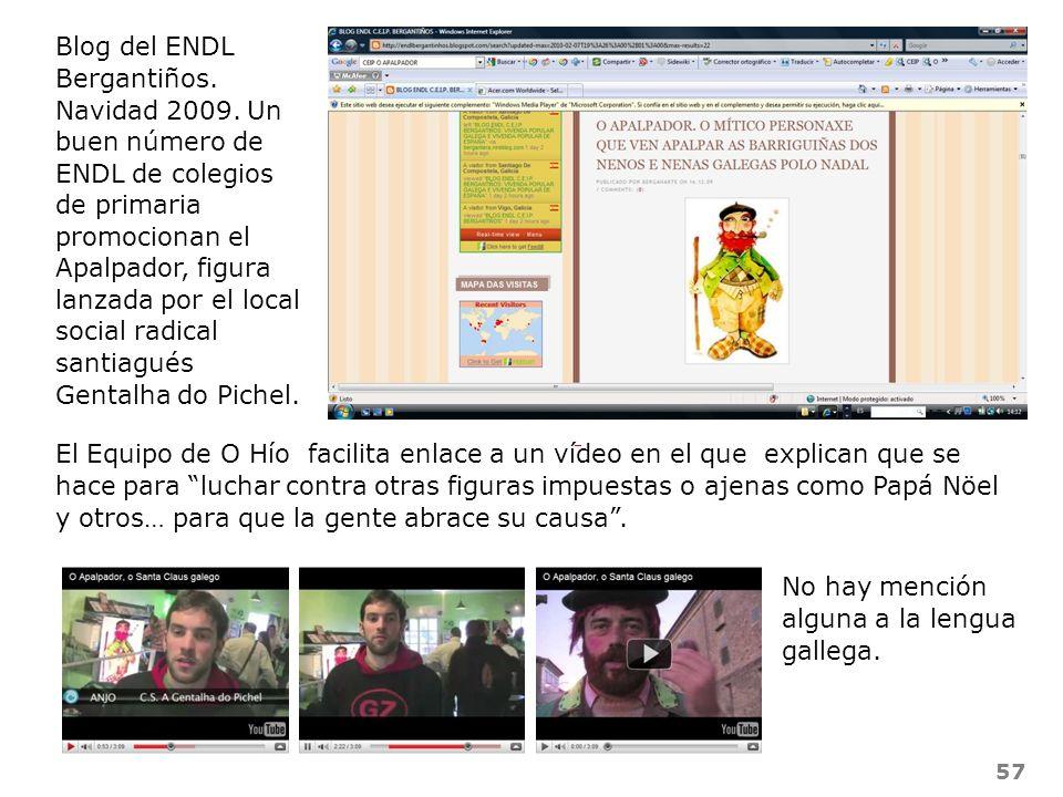 Blog del ENDL Bergantiños. Navidad 2009