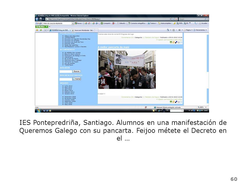 IES Pontepredriña, Santiago