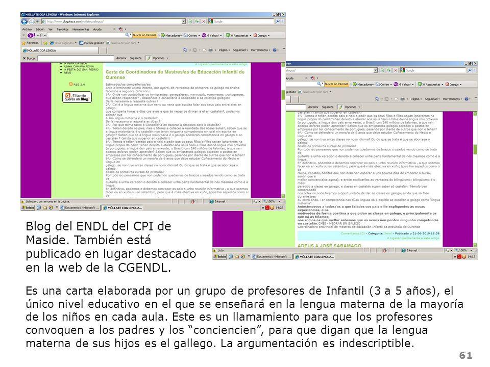Blog del ENDL del CPI de Maside