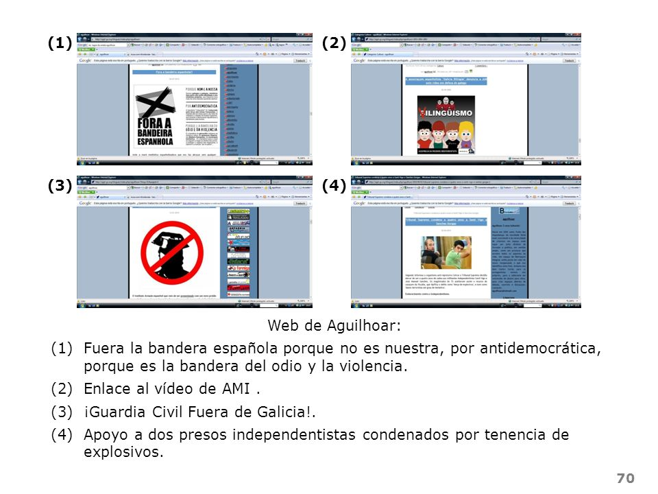 (1) (2) (3) (4) Web de Aguilhoar: