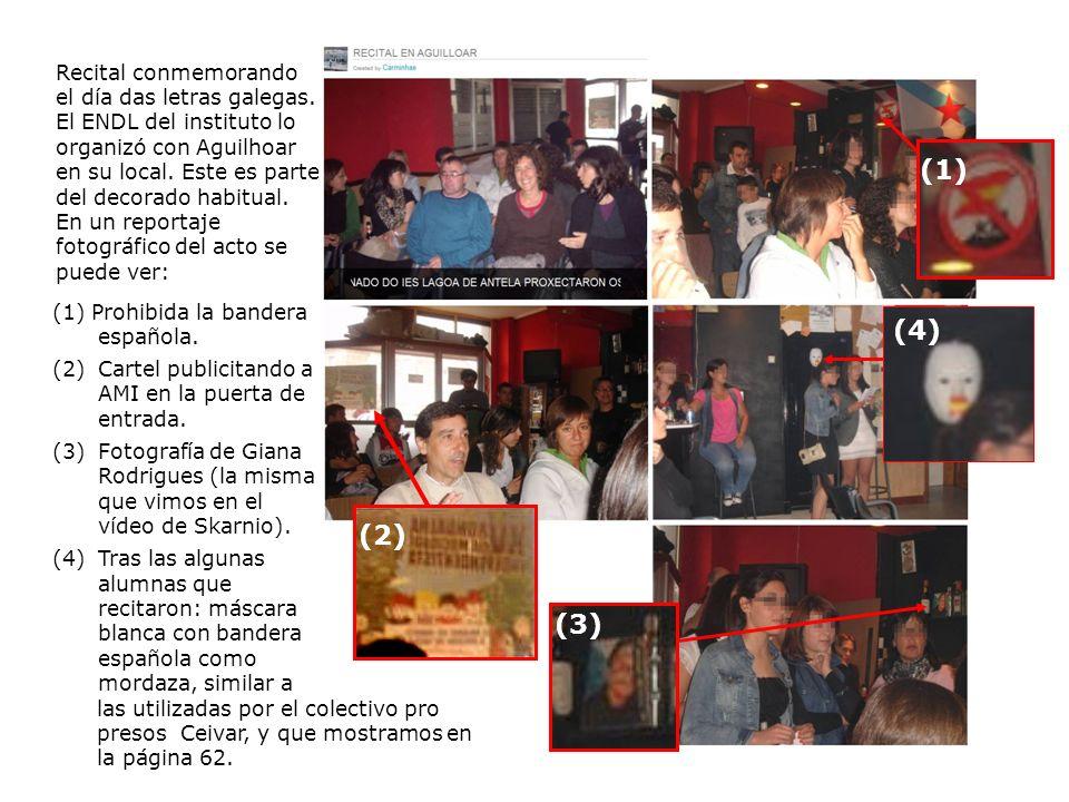 Recital conmemorando el día das letras galegas