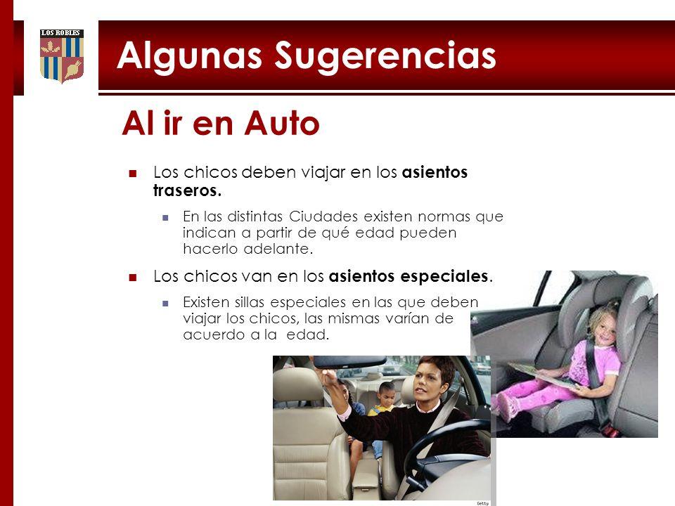 Algunas Sugerencias Al ir en Auto