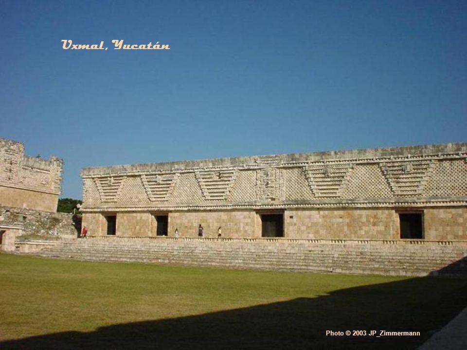 Photo © 2003 JP_Zimmermann Uxmal, Yucatán
