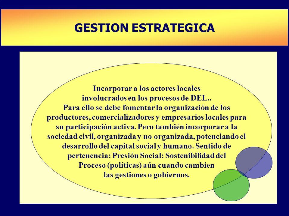 GESTION ESTRATEGICA PLAN DE DESARROLLO DE CAPACIDADES