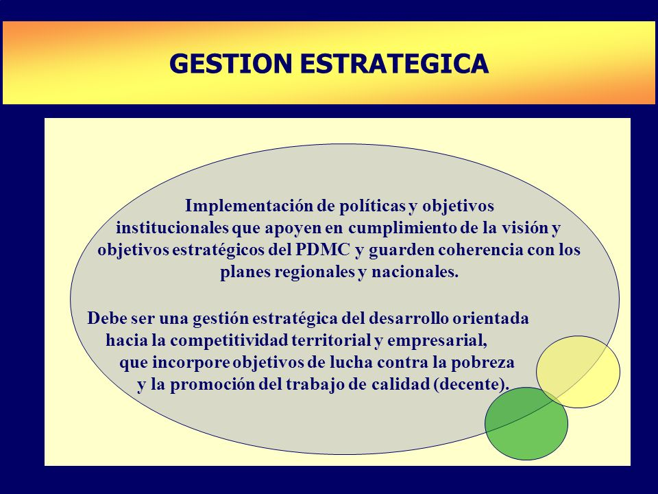 GESTION ESTRATEGICA PLAN DE DESARROLLO DE CAPACIDADES
