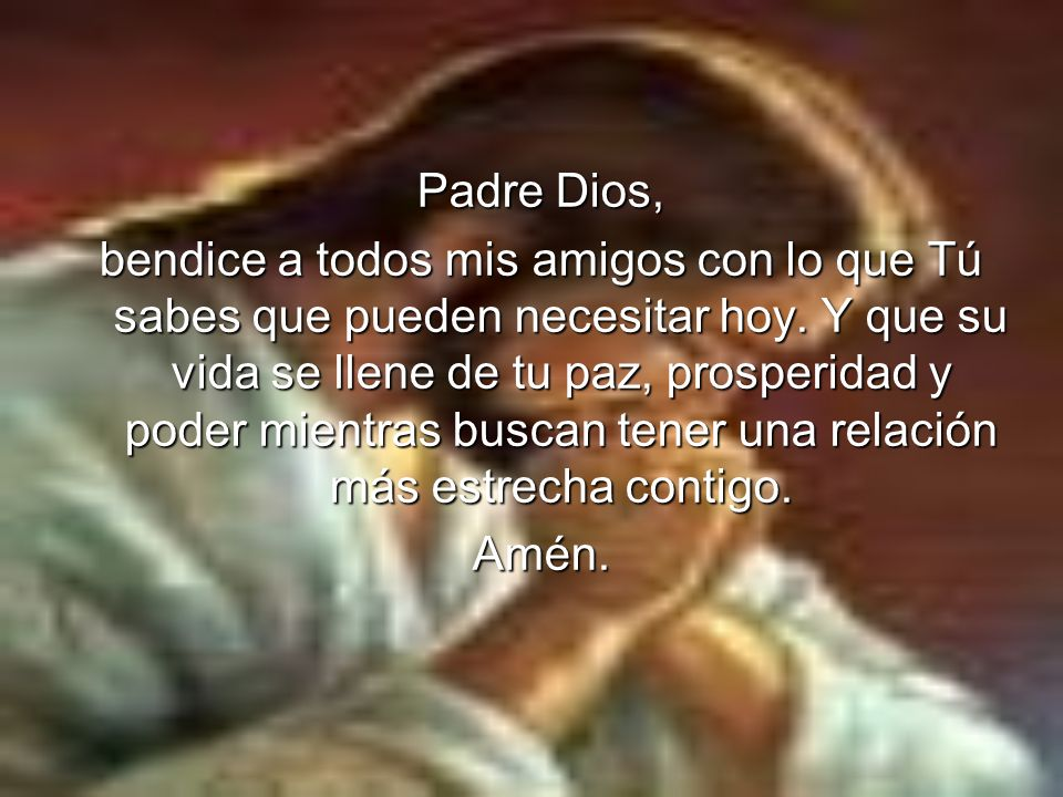 Padre Dios,