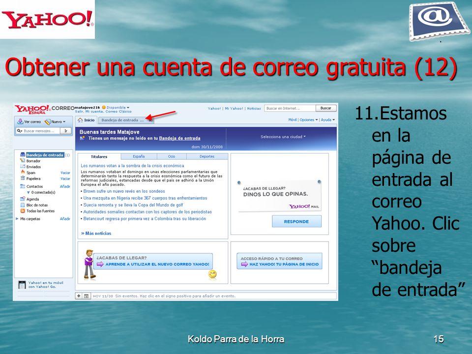 Obtener una cuenta de correo gratuita (12)