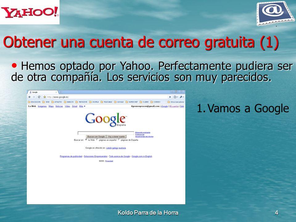 Obtener una cuenta de correo gratuita (1)
