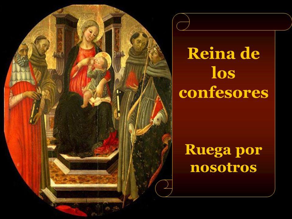 Reina de los confesores