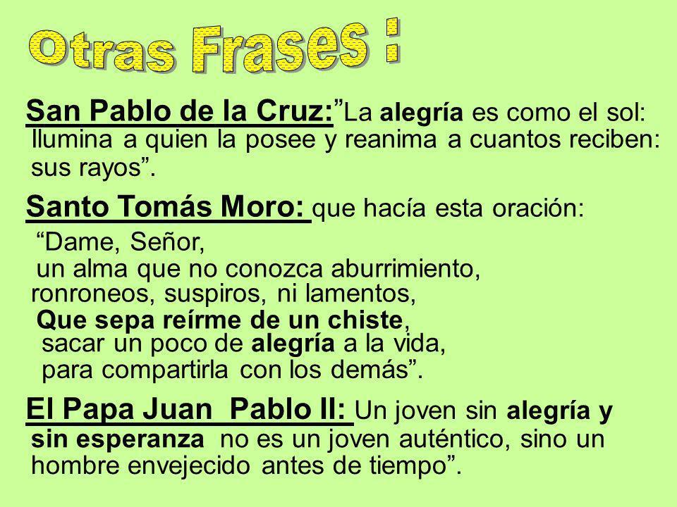 San Pablo de la Cruz: La alegría es como el sol: