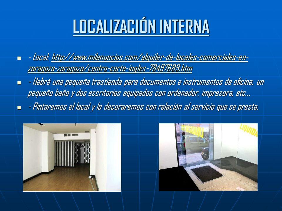 LOCALIZACIÓN INTERNA - Local: http://www.milanuncios.com/alquiler-de-locales-comerciales-en-zaragoza-zaragoza/centro-corte-ingles-78497689.htm.
