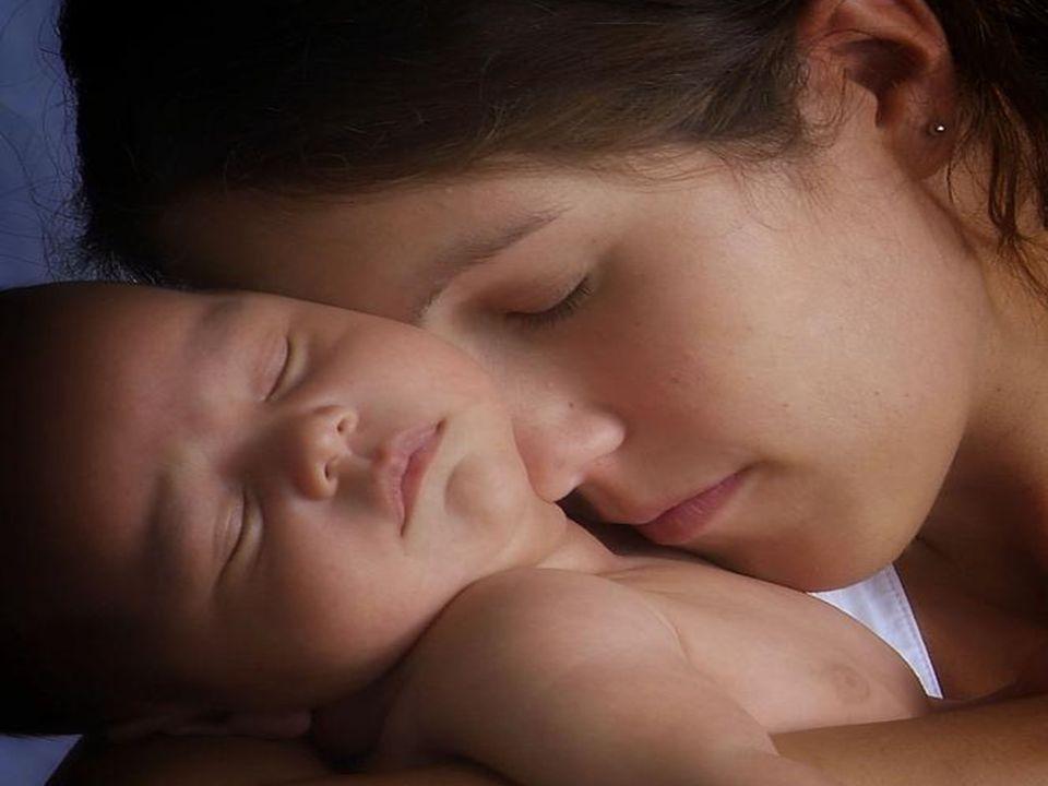 hasta que llegó la parte donde María pone al bebé en el pesebre.