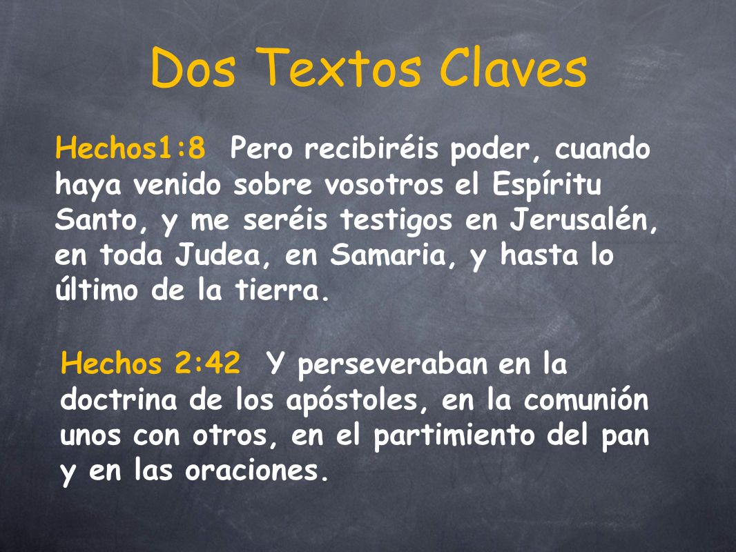 Dos Textos Claves