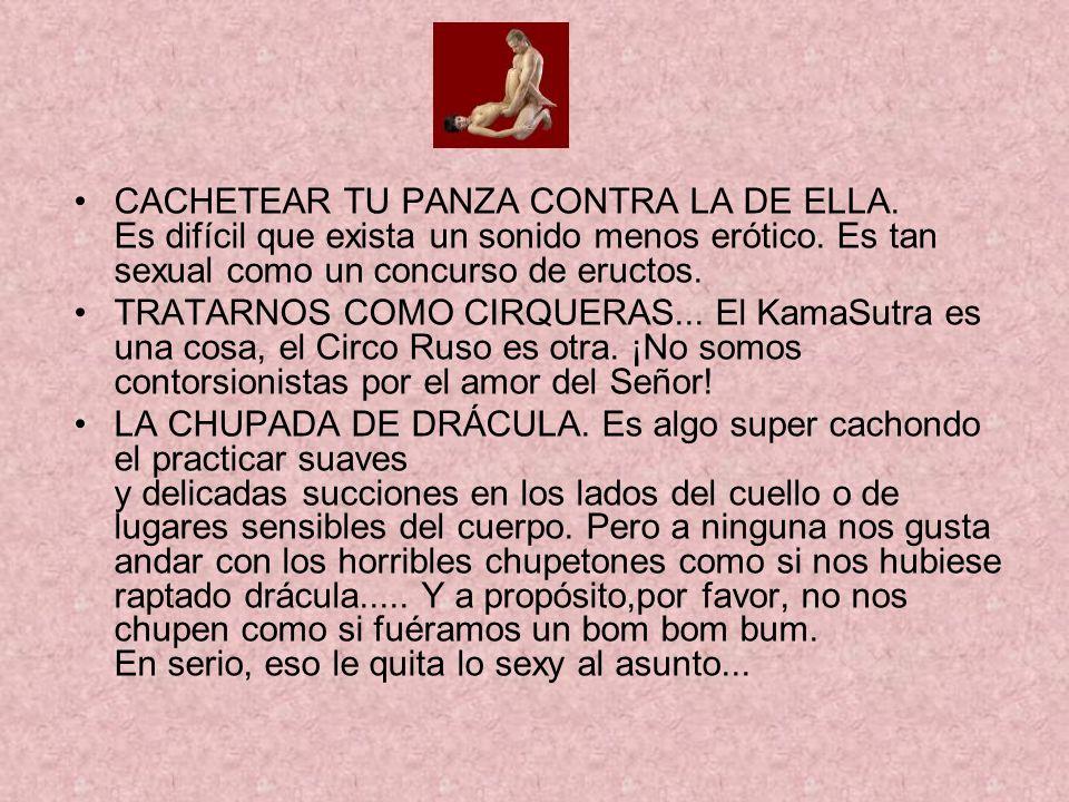 CACHETEAR TU PANZA CONTRA LA DE ELLA