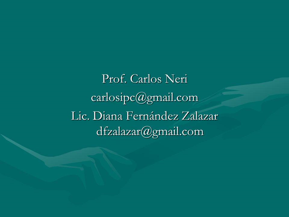 Lic. Diana Fernández Zalazar dfzalazar@gmail.com