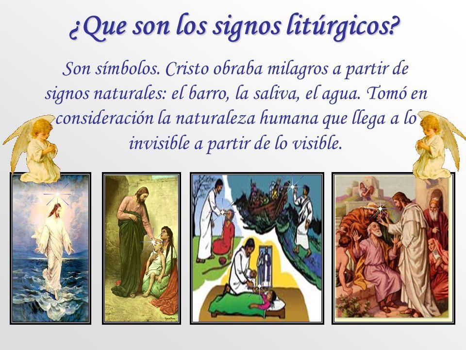 ¿Que son los signos litúrgicos