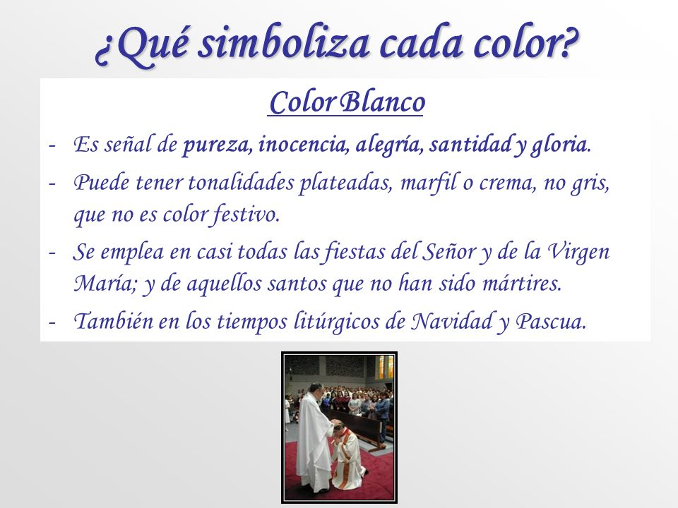 ¿Qué simboliza cada color