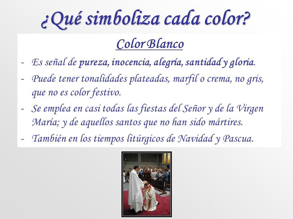 ¿Qué simboliza cada color